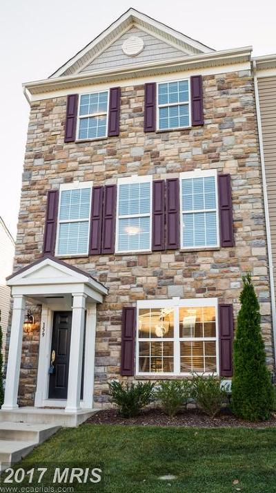 North East Townhouse For Sale: 159 Hopewell Drive