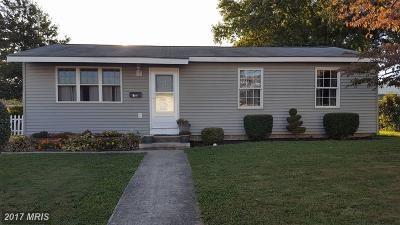 Cecil, Cecil County Single Family Home For Sale: 18 Apple Lane