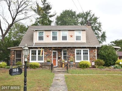 Elkton Single Family Home For Sale: 102 Elkton Boulevard