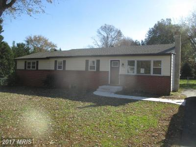 Cecil, Cecil County Single Family Home For Sale: 422 Big Elk Chapel Road
