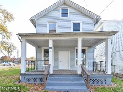 Cecil, Cecil County Single Family Home For Sale: 406 Broad Street