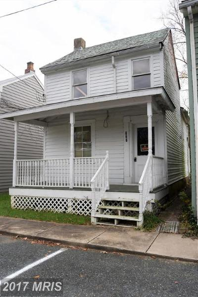 Chesapeake City Single Family Home For Sale: 222 Charles Street