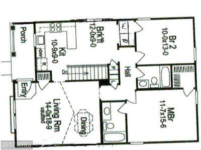 Elkton Single Family Home For Sale: 23 Ross Street