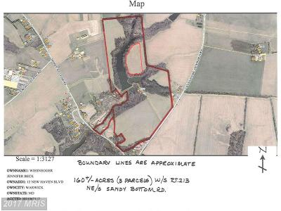Earleville Residential Lots & Land For Sale: Augustine Herman Highway