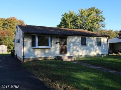 Elkton Single Family Home For Sale: 8 Peach Road