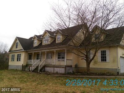 Earleville Single Family Home For Sale: 1684 Glebe Road