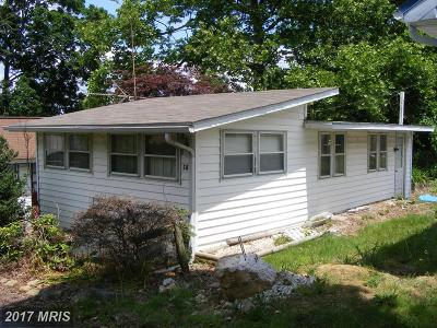 Earleville MD Single Family Home For Sale: $50,000