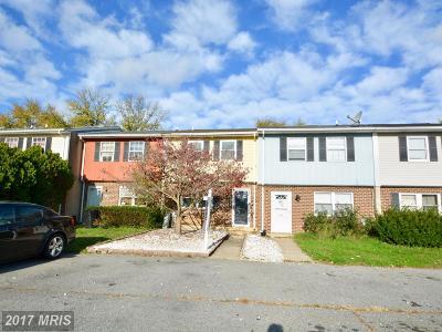 Elkton Townhouse For Sale: 141 Danford Drive