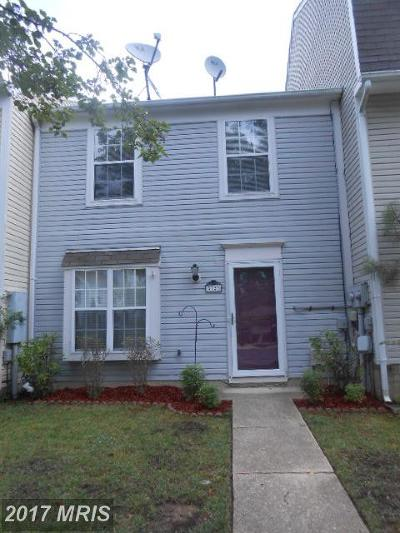 Waldorf Townhouse For Sale: 5723 Springfish Place