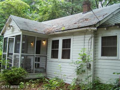 Bryans Road MD Single Family Home For Sale: $79,000