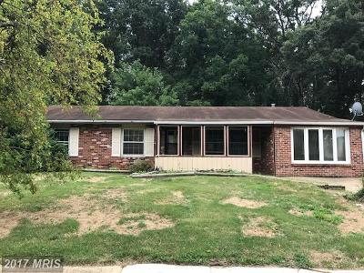Waldorf Single Family Home For Sale: 125 Jefferson Road