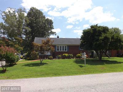 La Plata Single Family Home For Sale: 807 Anne Arundel Avenue