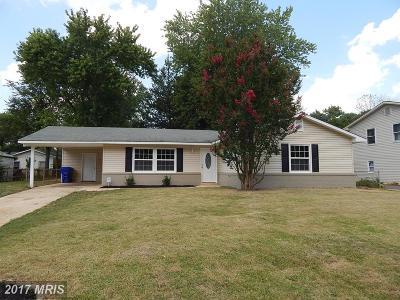 Waldorf Single Family Home For Sale: 1114 Copley Avenue