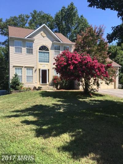Waldorf Single Family Home For Sale: 1989 Rosewood Drive