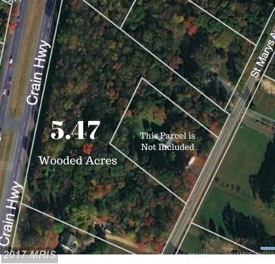 La Plata MD Residential Lots & Land For Sale: $130,000