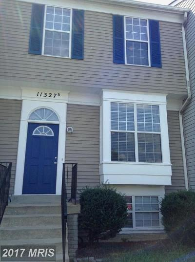 Waldorf Townhouse For Sale: 11327 Snow Owl Place
