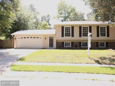 Waldorf Single Family Home For Sale: 2802 Lomax Court