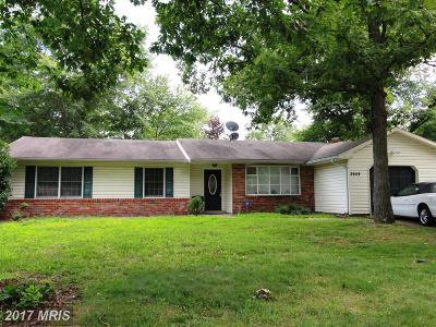 Waldorf Single Family Home For Sale: 2654 Upbrook Court