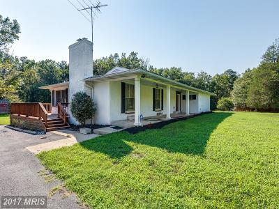 La Plata Single Family Home For Sale: 7415 Pomfret Road