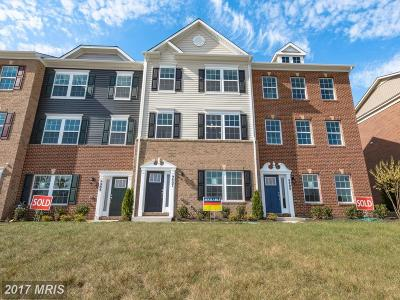 Waldorf Townhouse For Sale: 9807 Ushers Place