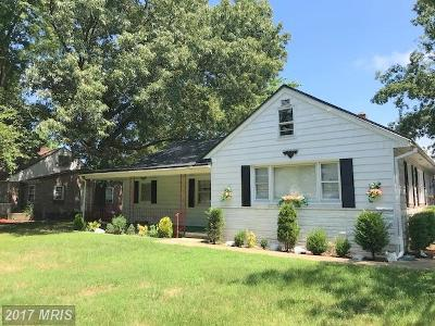 La Plata Single Family Home For Sale: 119 Oak Avenue