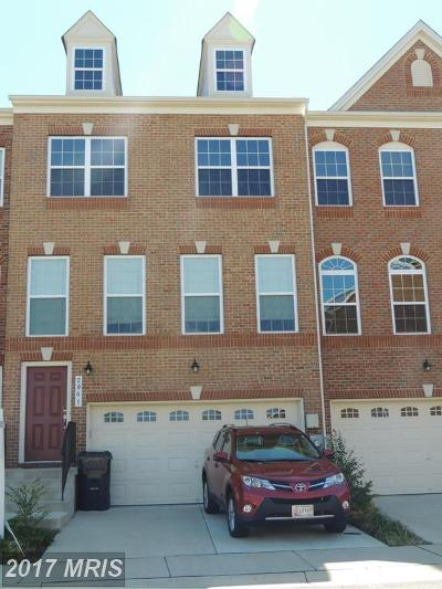Bryans Road Townhouse For Sale: 2941 Sedgemore Place