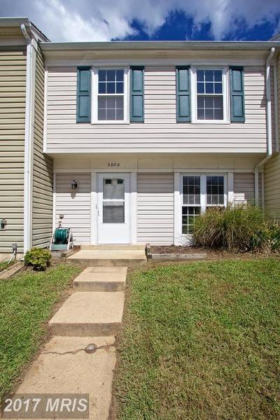 Waldorf Townhouse For Sale: 3888 Light Arms Place