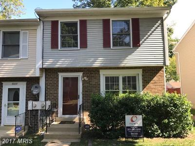 Waldorf Townhouse For Sale: 3931 Wintergreen Place