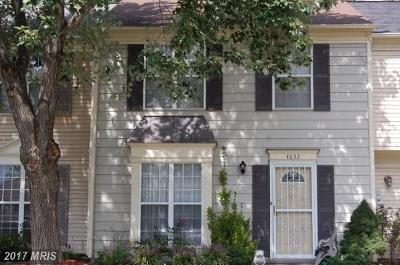 Waldorf Townhouse For Sale: 4642 Grosbeak Place
