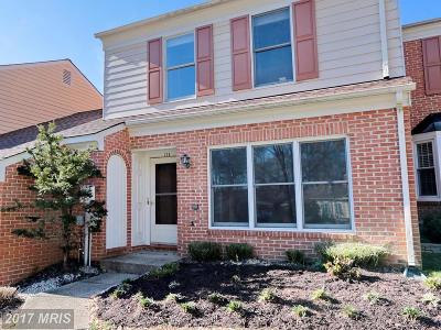 La Plata Townhouse For Sale: 124 Huckleberry Drive