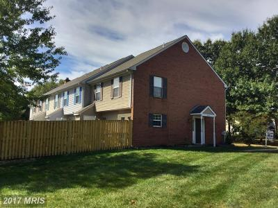 Waldorf Townhouse For Sale: 6127 Saint Anthonys Court