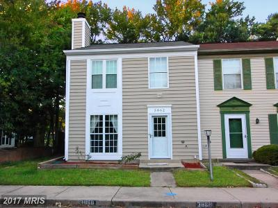 Waldorf Townhouse For Sale: 3862 Kelly Green Place