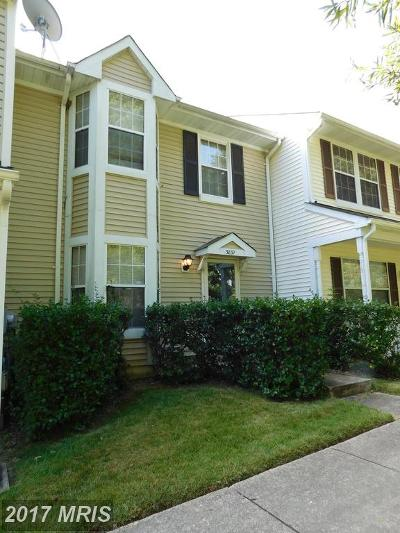 Waldorf Townhouse For Sale: 3837 Gateview Place