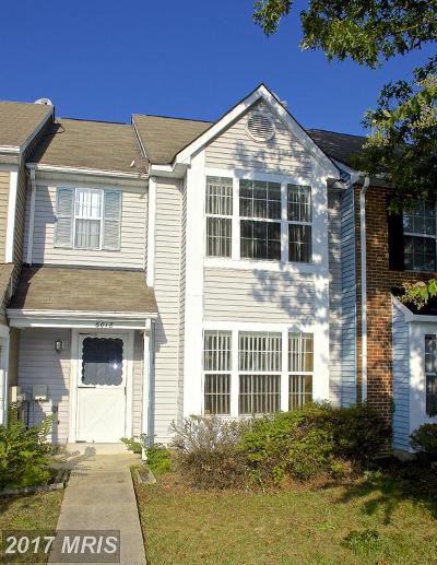 Waldorf Townhouse For Sale: 6018 Sirenia Place