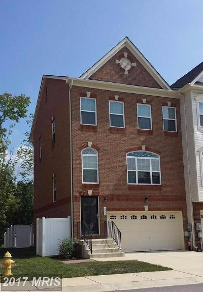 Bryans Road Townhouse For Sale: 6960 Surrey Place