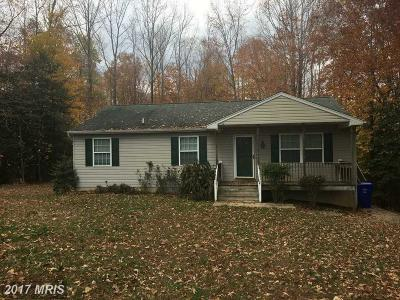 Brandywine Single Family Home For Sale: 4325 Begonia Place
