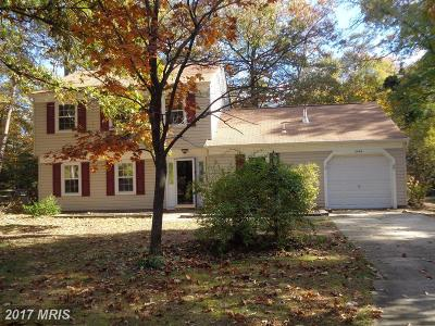 Waldorf Single Family Home For Sale: 3444 Tulip Tree Court