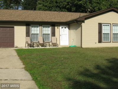 Waldorf Single Family Home For Sale: 309 Bucknell Circle