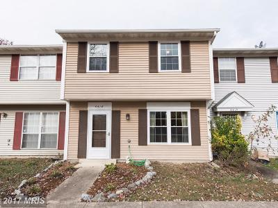 Waldorf Townhouse For Sale: 4418 Eagle Court