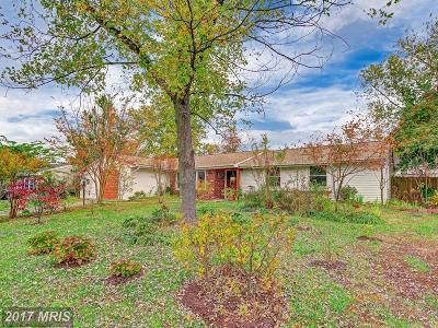 Waldorf Single Family Home For Sale: 1617 Debra Drive