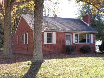 Waldorf Single Family Home For Sale: 3790 Old Washington Road