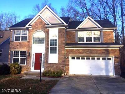 Waldorf Single Family Home For Sale: 8714 Grassland Court