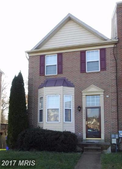 Waldorf Townhouse For Sale: 11804 Mordyshire Place