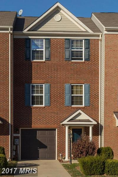 Waldorf Townhouse For Sale: 4823 Olympia Place
