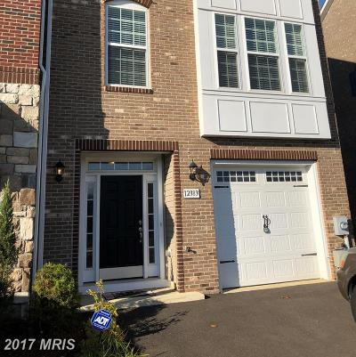 Waldorf Townhouse For Sale: 12383 Sandstone Street