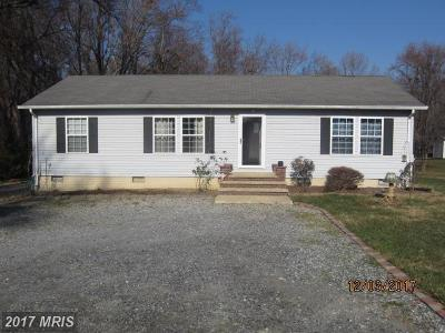 Waldorf Single Family Home For Sale: 10520 Berry Road