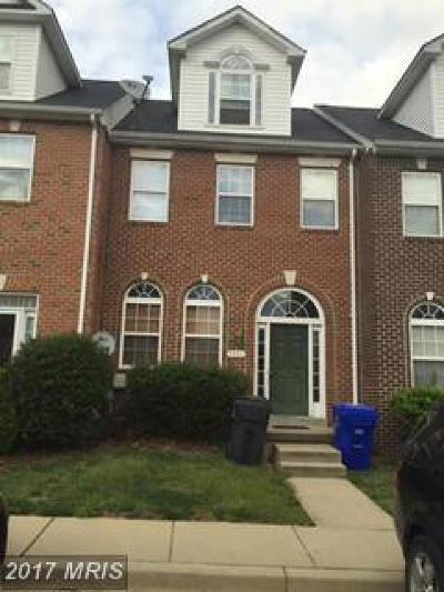 Waldorf Townhouse For Sale: 9956 Morristown Place
