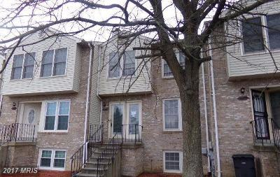 Waldorf Townhouse For Sale: 3308 Westdale Court
