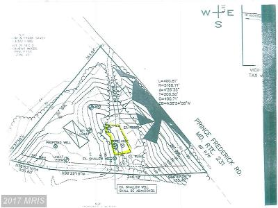 Hughesville Residential Lots & Land For Sale: 16517 Prince Frederick Road