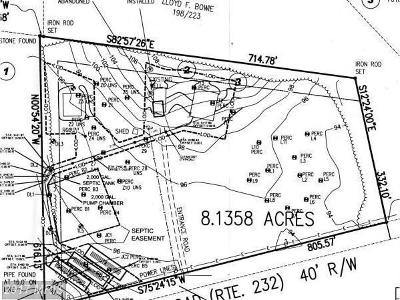 Residential Lots & Land For Sale: 4465 Bryantown Road